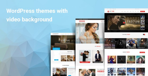WordPress themes with video background