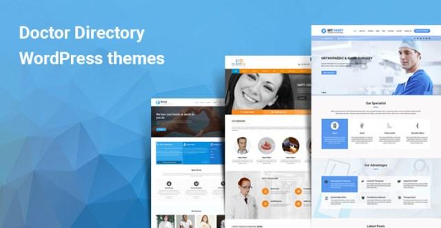 Doctor directory WordPress themes