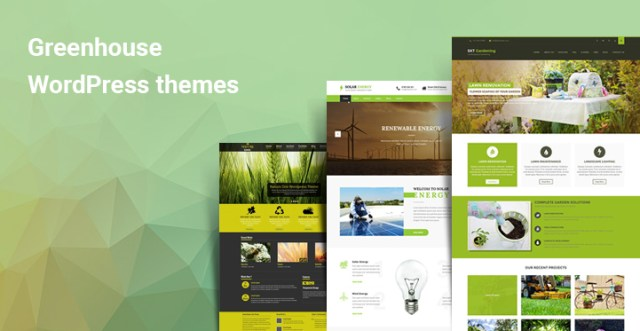 Greenhouse WordPress themes