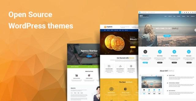 Open Source WordPress themes