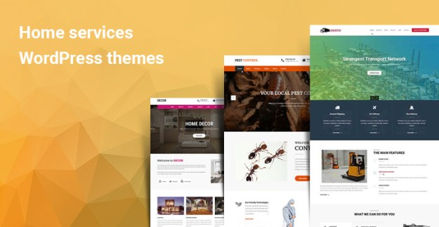 Home services WordPress themes