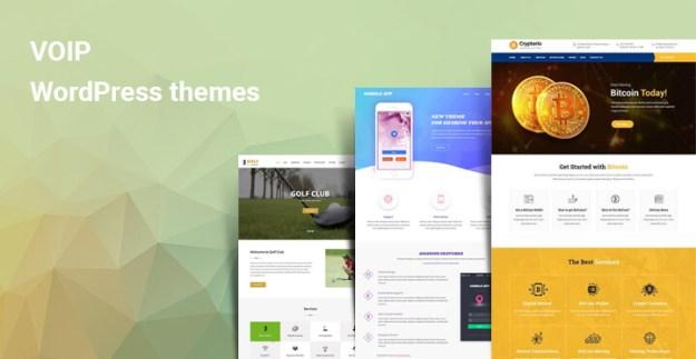 VOIP WordPress themes