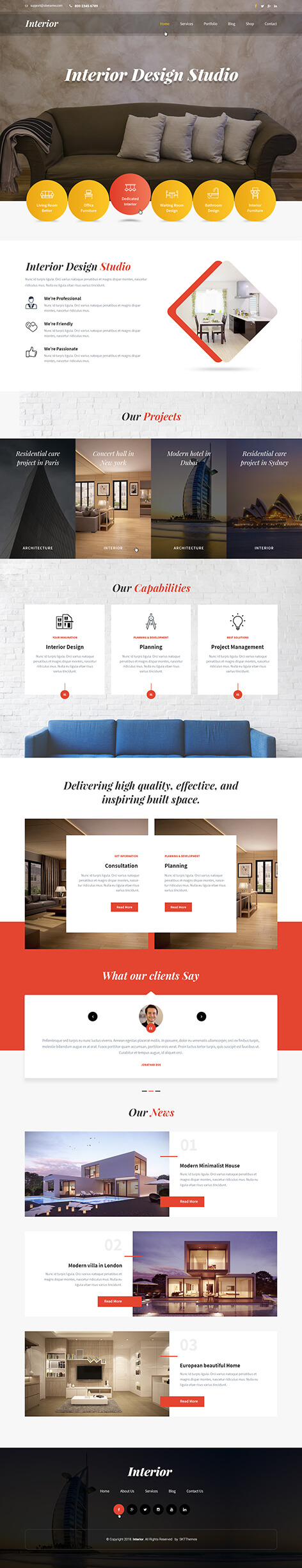 decorator wordpress theme