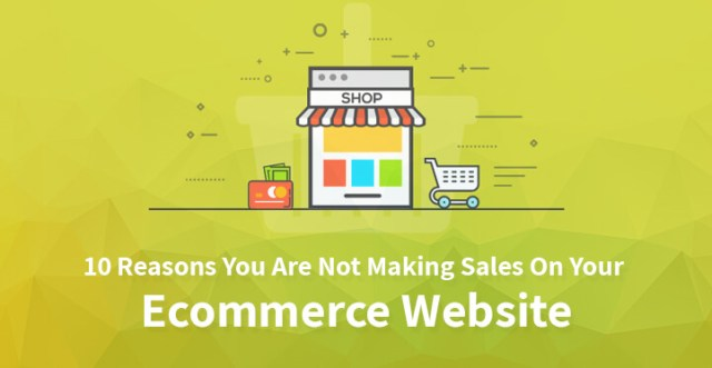 Reasons You Are Not Making Sales On Your Ecommerce Website