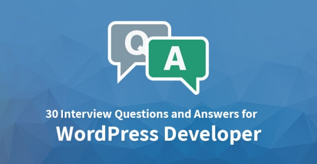 30 Interview Questions and Answers for WordPress Developer