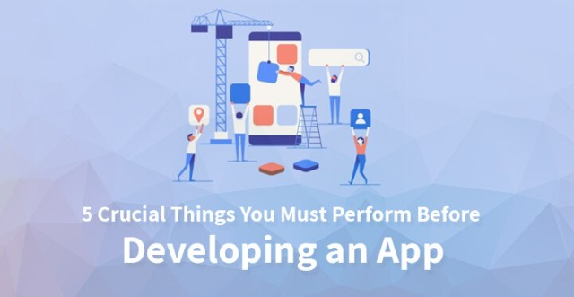 5 Crucial Things You Must Perform Before Developing an App
