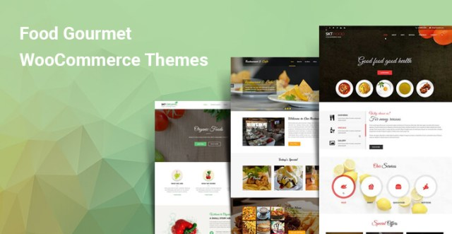 Food Gourmet WooCommerce Themes