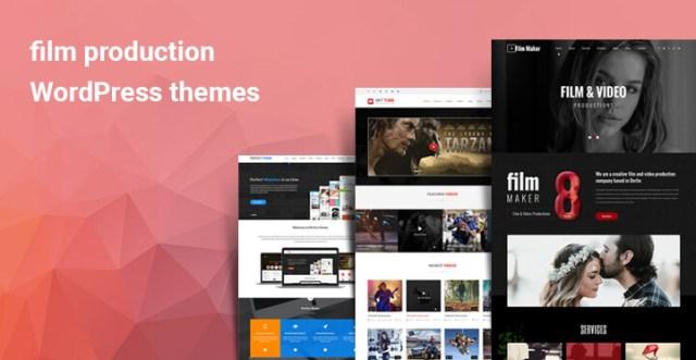 film production WordPress themes