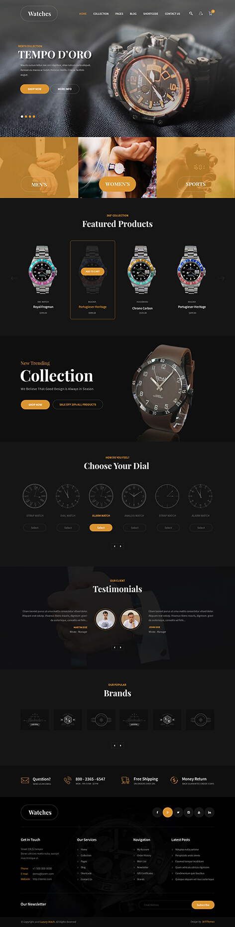 Luxury WordPress theme