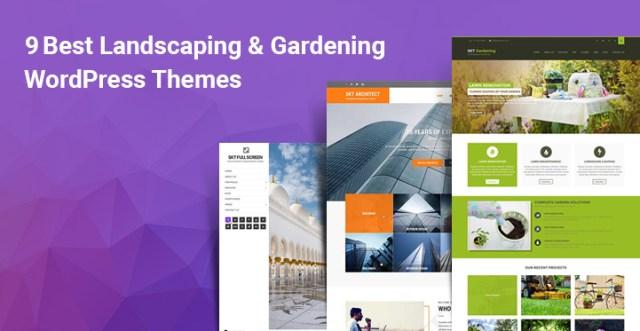 Landscaping Gardening WordPress themes