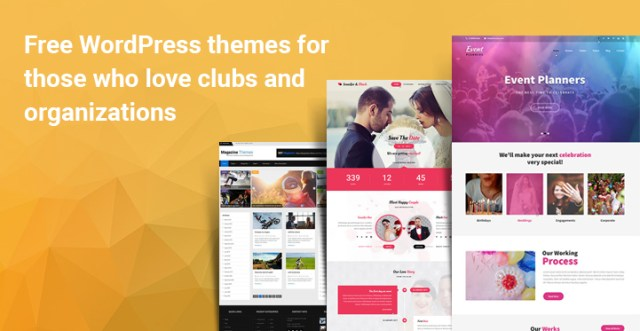 Free Themes Clubs Organizations