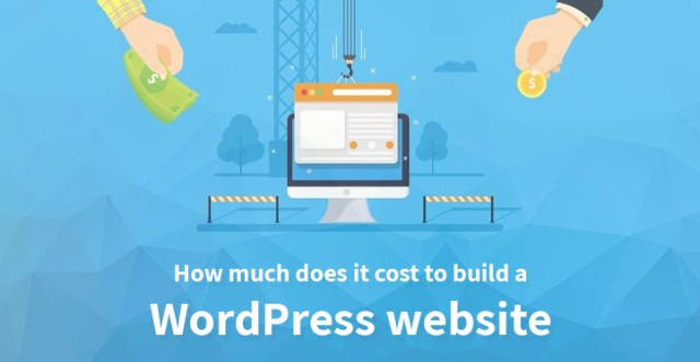 How much does it cost to build a WordPress website