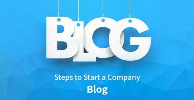 Steps to Start a Company Blog