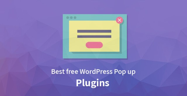 free WordPress Pop up Plugins