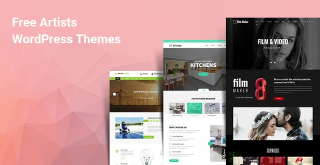 Free Artists WordPress Themes