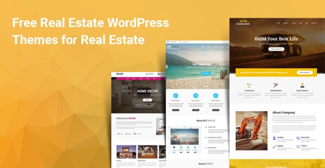 Free Real Estate WordPress Themes for Real Estate