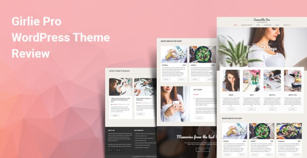 Girlie Pro WordPress theme review
