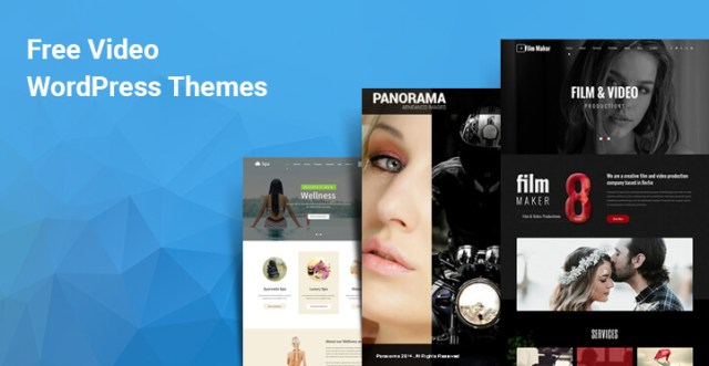 free video WordPress themes