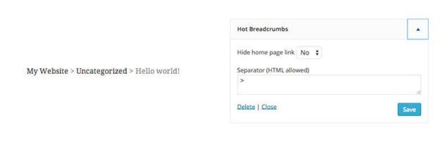 hot breadcrumbs