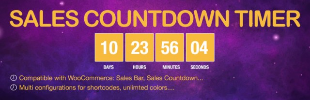 Sales Countdown Timer