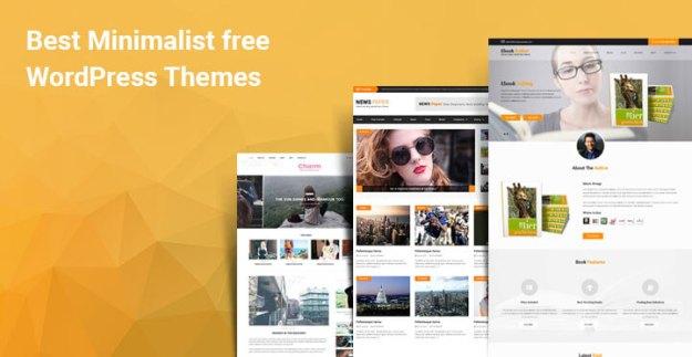 minimalist free WordPress themes
