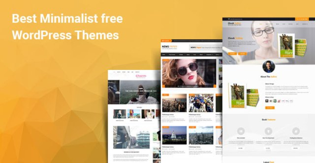 minimalist free WordPress themes