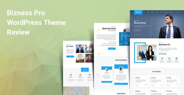 corporate website theme for WordPress
