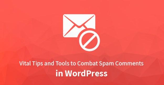 combat spam comments