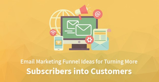 email marketing funnel ideas