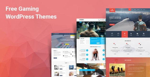 free gaming WordPress themes
