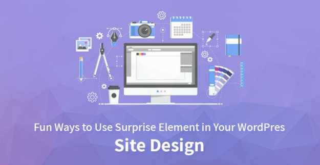 Surprise element WordPress