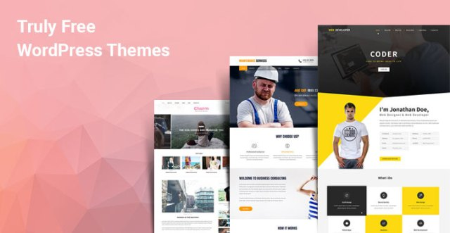 truly free WordPress themes