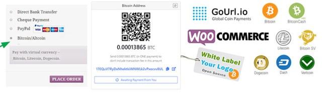 gourl woocommerce bitcoin