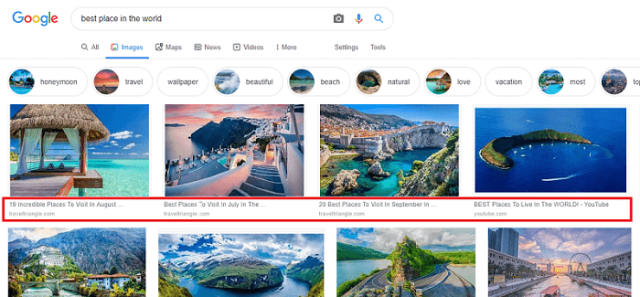 image optimization in search engine