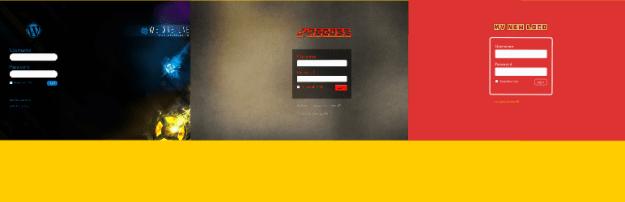 custom login page styler