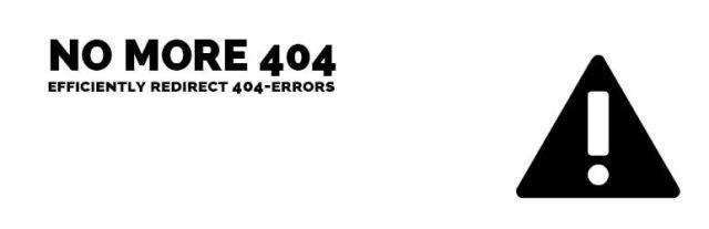 no more 404 plugin