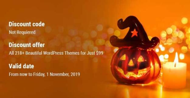 Halloween Deals and Discount