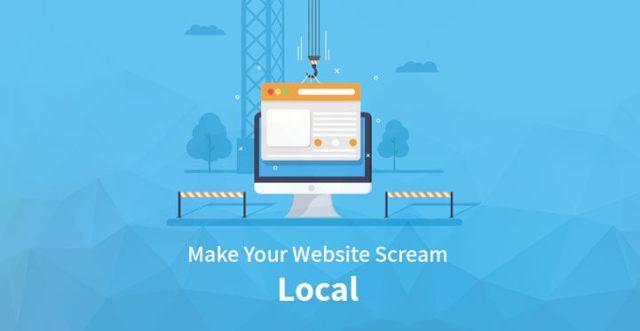 website scream local