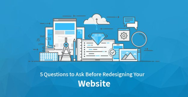 questions before redesigning your website