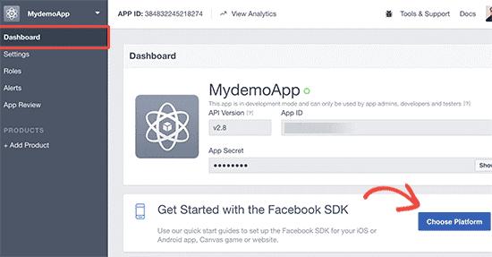 FB SDK App