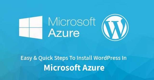 Install WordPress In Microsoft Azure