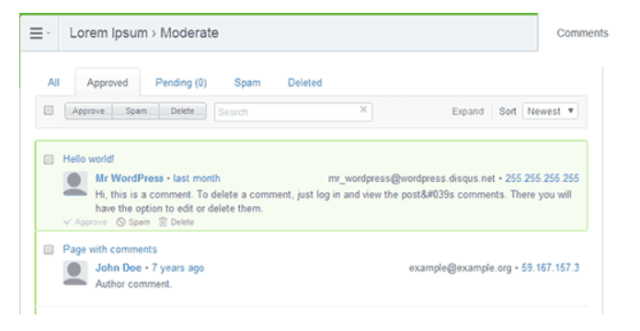 Learn To Moderate Your Blog's Disqus Comments