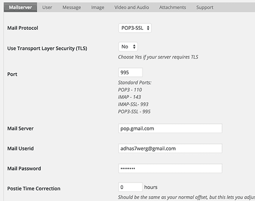 Plugins Admin Screen