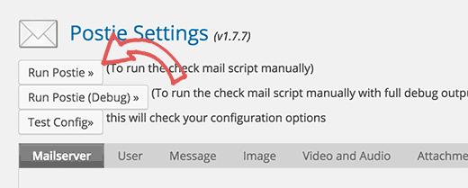 server setting
