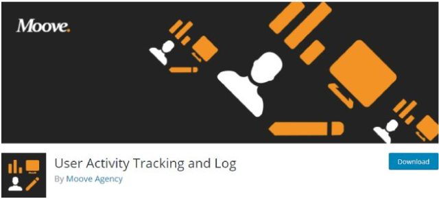 user activity tracking and log