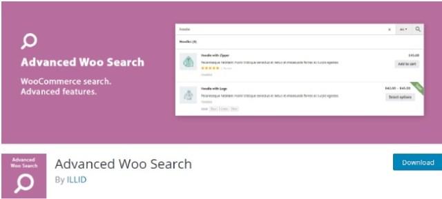 Advanced woo search