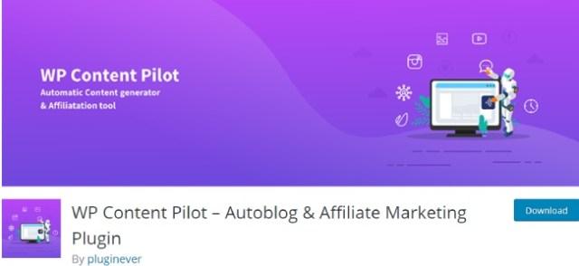WP Content Pilot