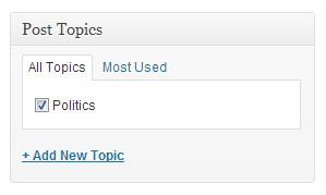 post topics