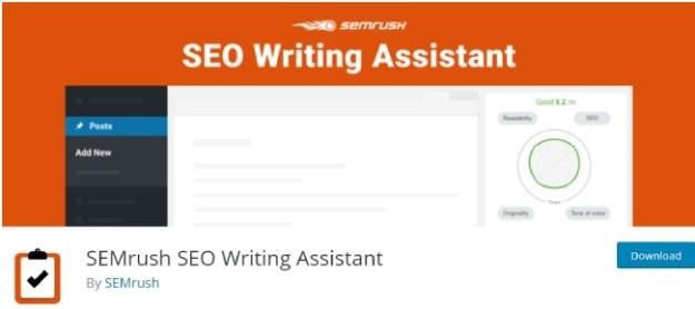 sem rush seo writing assistant