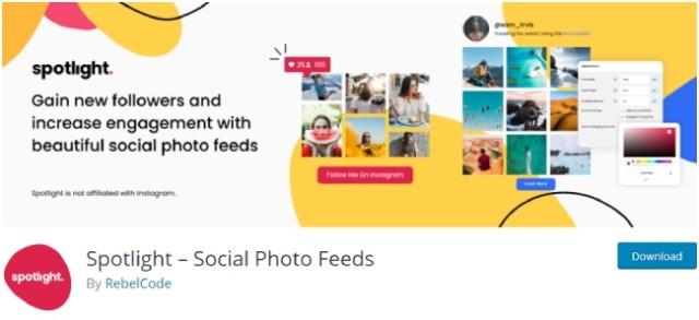 spotlight social photo feeds